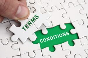 tos - terms & conditions